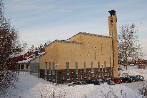 Masaby kyrka och församlingshem
